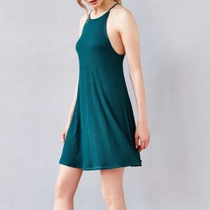 Silence + Noise Ribbed Swing Dress